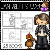 Jan Brett Distance Learning Packet for 25 Titles