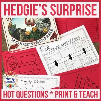 Jan Brett Hedgie's Surprise Book Companion