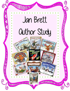 Jan Brett Holiday Author Study