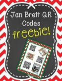 Jan Brett Holiday QR Listening Center FREEBIE