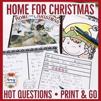 Jan Brett Home For Christmas Unit