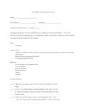 Jan Brett Learning Contract