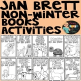 Jan Brett Non-Winter Books Activities and Comprehension Questions