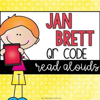 Jan Brett QR Code Read Alouds