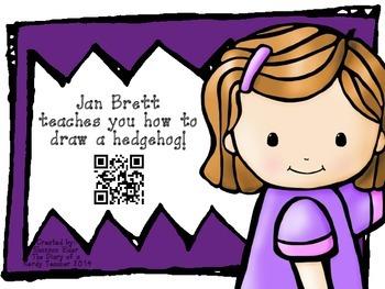Jan Brett QR Readers for Listen to Reading