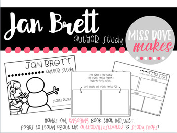 Jan Brett: Story Maps