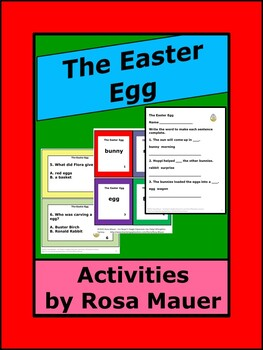 Jan Brett The Easter Egg Literacy Activities