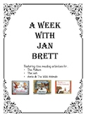 Jan Brett The Mitten The Hat  Annie and the Wild Animals Close Reading