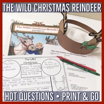 Jan Brett The Wild Christmas Reindeer Unit