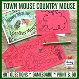 Jan Brett Town Mouse Country Mouse Unit
