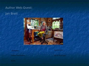 Jan Brett Webquest