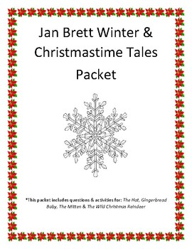 Jan Brett Winter Books packet