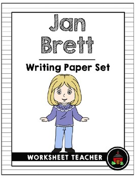 Jan Brett Writing Paper Set
