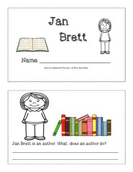 Jan Brett mini-book