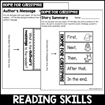Jan Brett's Home for Christmas: Interactive Book Project