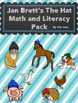 Jan Brett's The Hat Math and Literacy (NEW)