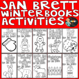 Jan Brett Winter Books Activities and Comprehension Questions