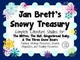 Jan Brett's Snowy Treasury: Complete Literature Studies of Four Winter Books!