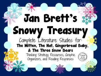 Jan Brett's Snowy Treasury: Complete Literature Studies of Four Winter Books!