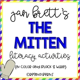 "Jan Brett's ""The Mitten"" - Literacy Activities in Color and Black & White"