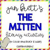 "Jan Brett's ""The Mitten"" - Literacy Activities in Color an"
