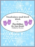 """Jan Brett's """"The Mitten"""" Vocabulary and Word Work"""