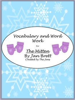 "Jan Brett's ""The Mitten"" Vocabulary and Word Work"