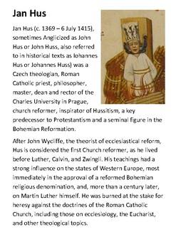 Jan Hus Handout