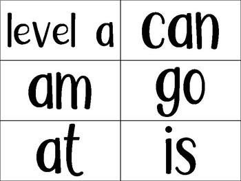 Jan Richardson Sight Word Flashcards by Level