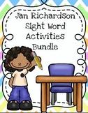 Jan Richardson Sight Words Activities Bundle