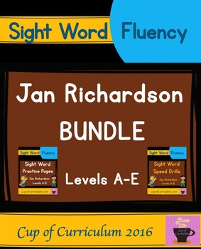 Jan Richardson's Levels A-E BUNDLE