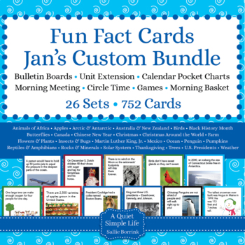 jans fun facts custom bundle
