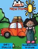 Jan's New Home Reading Street Resource Unit 1st Grade 2008 Unit 3 Story 3