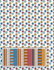 Jana Paper Digital Collection - Colorful Chevrons, Stars and Stripes