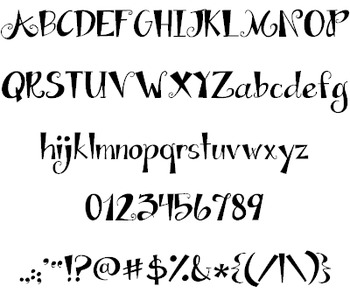 Janda Apple Cobbler Font: Personal Use