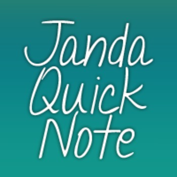 Janda Quick Note Font: Personal Use