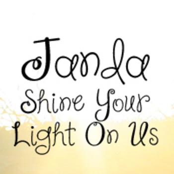 Janda Shine Your Light On Us Font: Personal Use