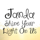 Janda Shine Your Light On Us Font: Personal Use