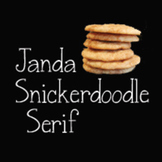 Janda Snickerdoodle Serif Font: Personal Use