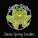 Janda Spring Doodles Font: Personal Use