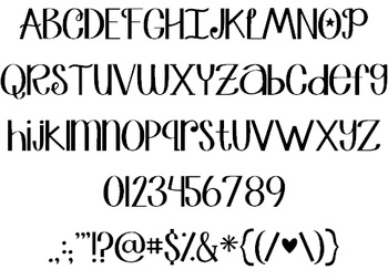 Janda Truly Madly Deeply Font: Personal Use
