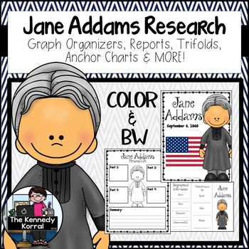 Jane Addams Research Report Bundle