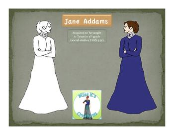 Jane Addams Clip Art