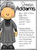 Jane Addams Biography Pack (Women's History)