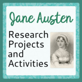 Jane Austen 8 Projects and Activities