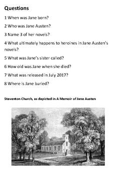 Jane Austen Handout