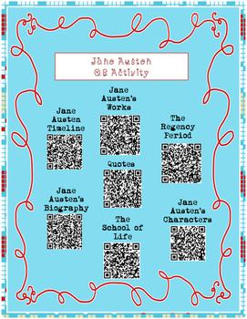 Jane Austen QR Activity