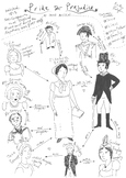 Jane Austen's 'Pride And Prejudice' - Character Map