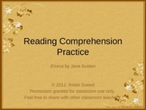 Jane Austen's Emma: Reading Comprehension Practice (PowerPoint)