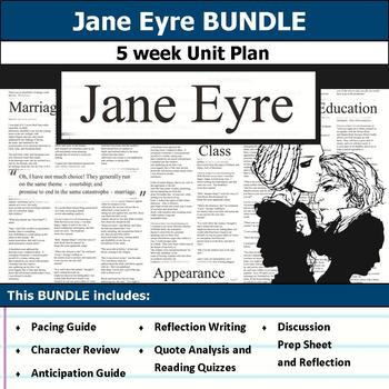 Jane Eyre Unit Bundle
